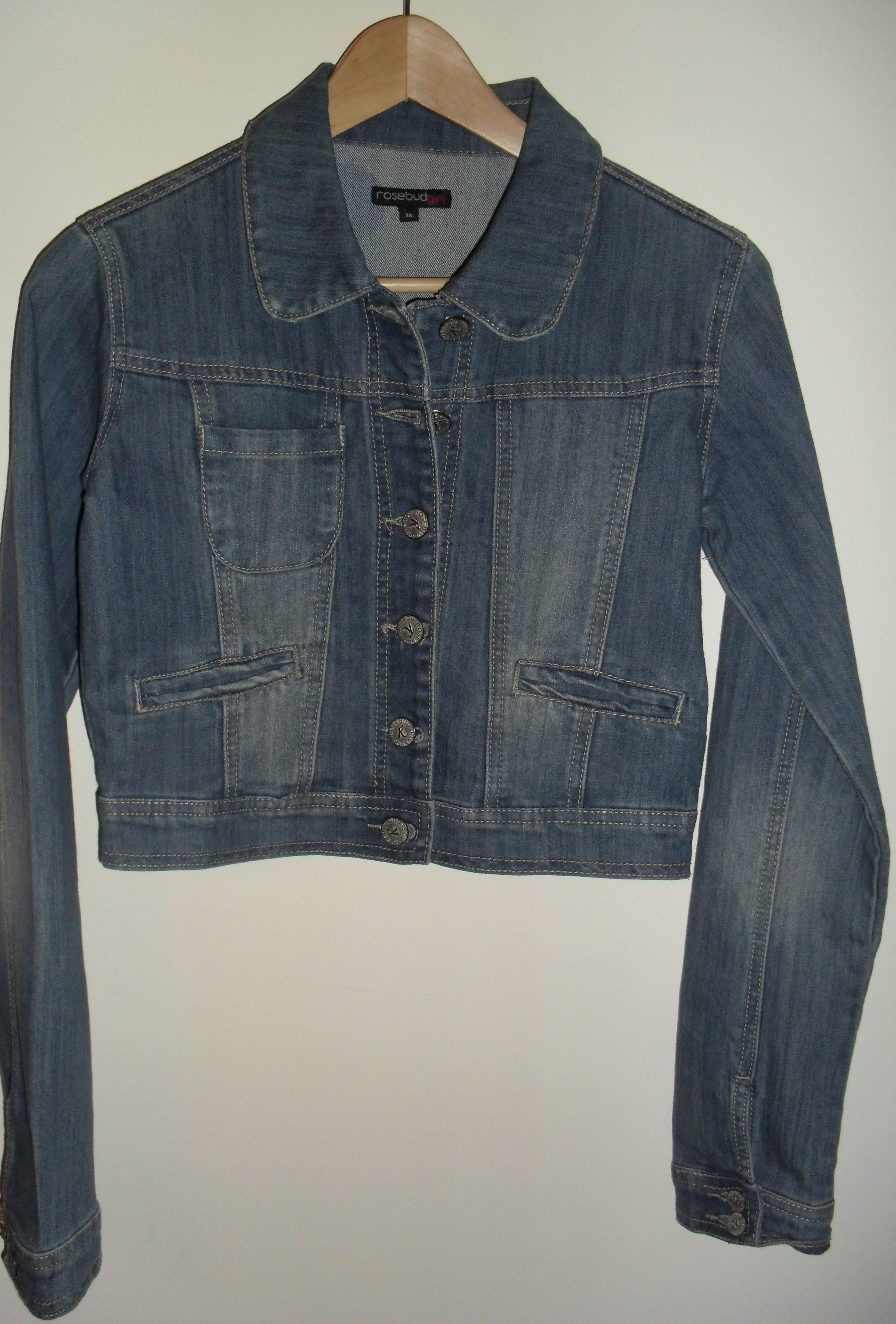 veste jean neuve taille 36 at the friponne 39 s dressing. Black Bedroom Furniture Sets. Home Design Ideas